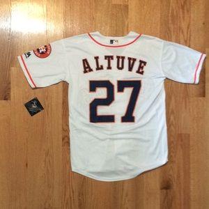 Houston Astros #27 Altuve jersey